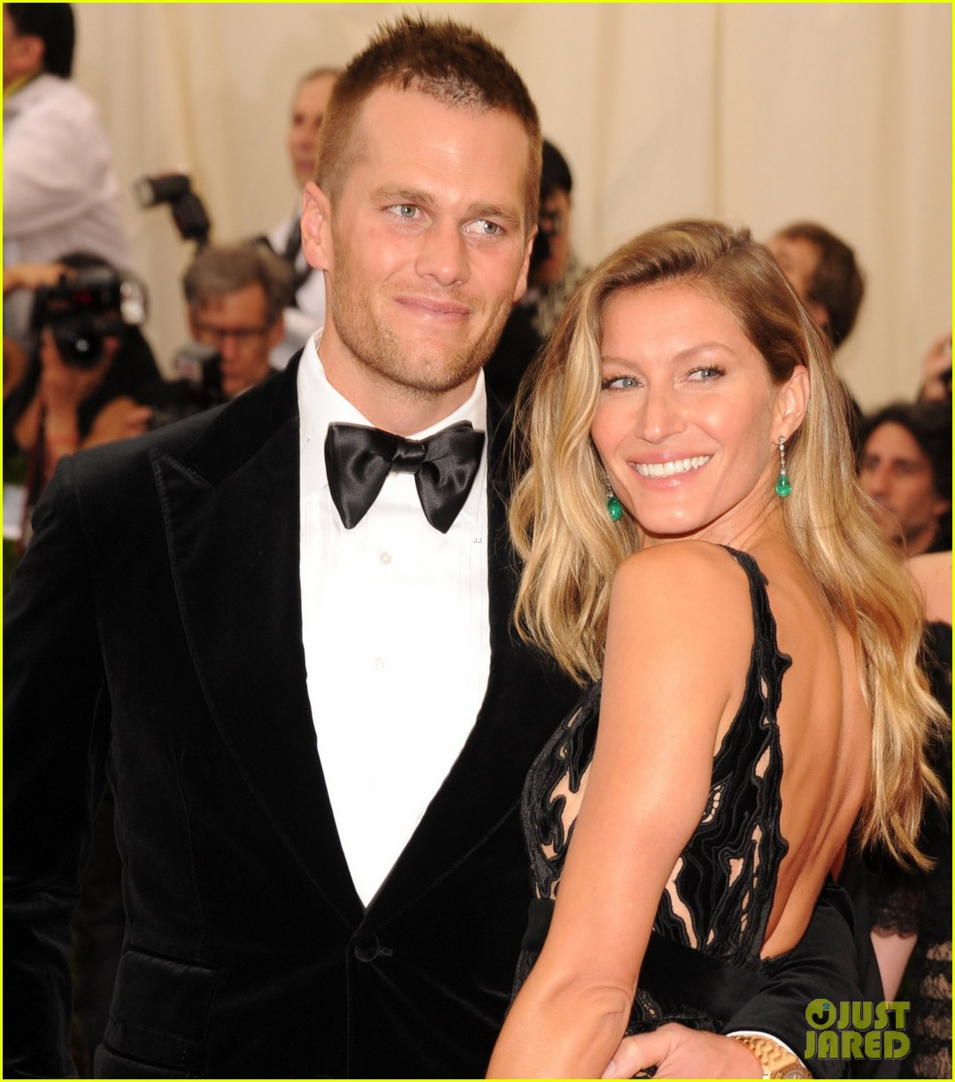 gisele bundchen tom brady are glowing couple at met ball 2014 053106102
