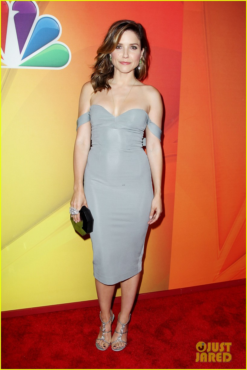sophia bush blacklist stars promote shows at nbc upfront 013111717