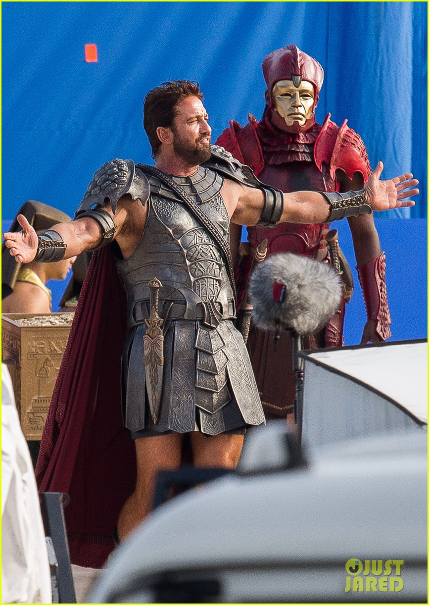 gerard butler gods of egypt filming 06