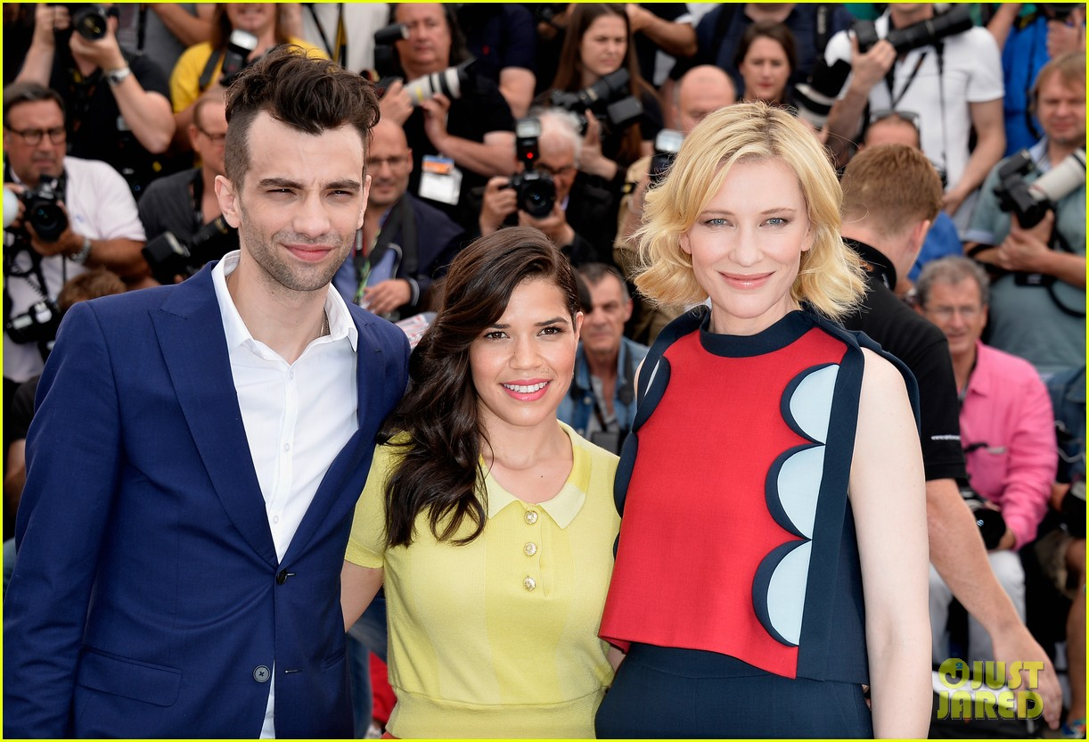 cate blanchett america ferrera bring color to how to train your dragon cannes 043114981