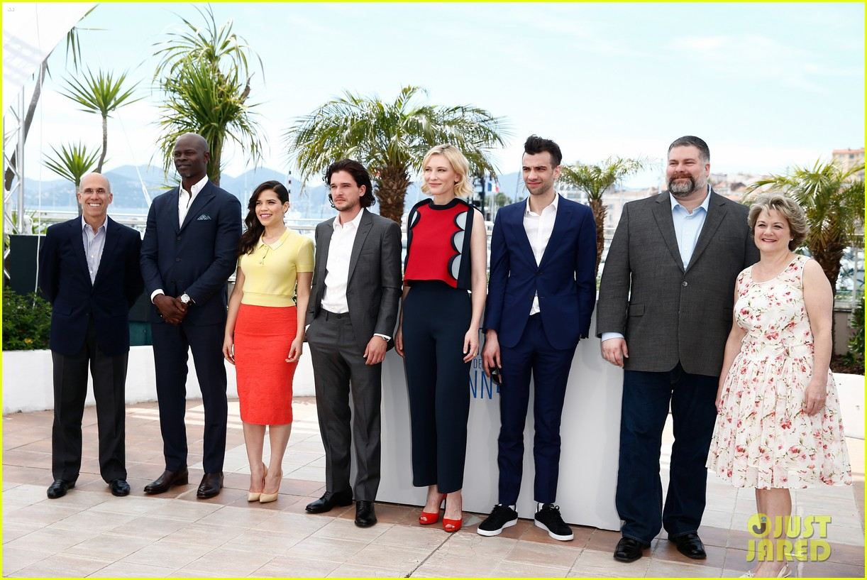 cate blanchett america ferrera bring color to how to train your dragon cannes 09