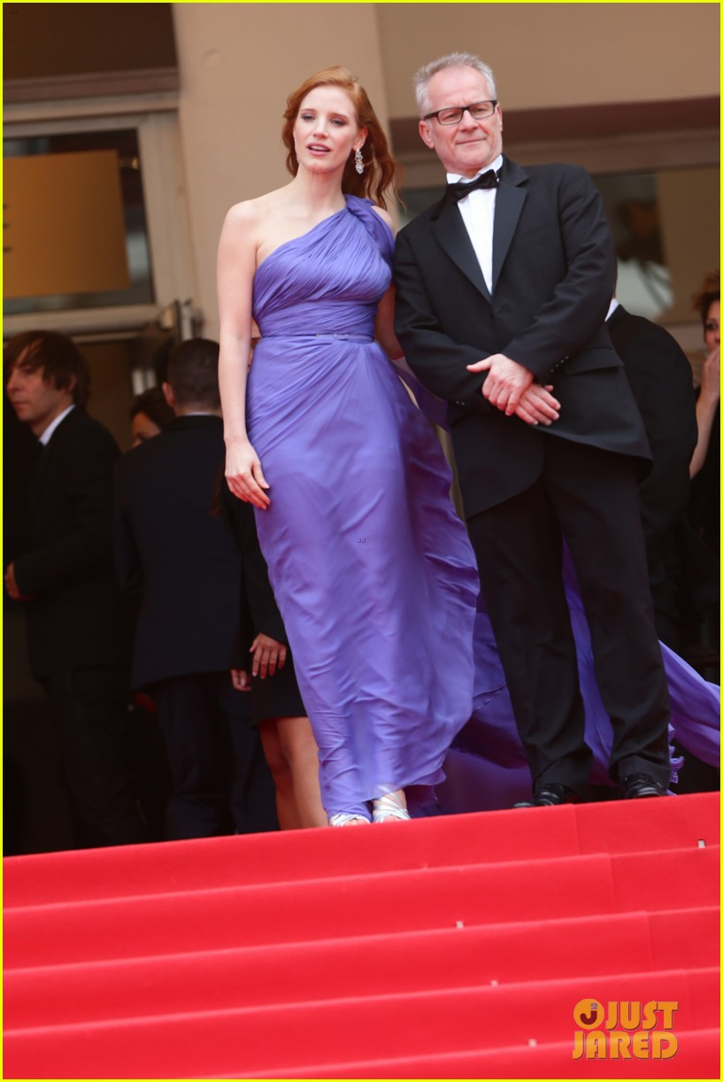 Full Sized Photo of jessica chastain foxcatcher cannes ... Jessica Chastain