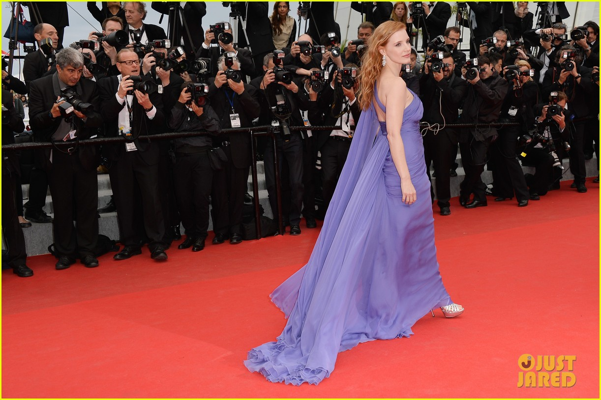 jessica chastain foxcatcher cannes premiere 18