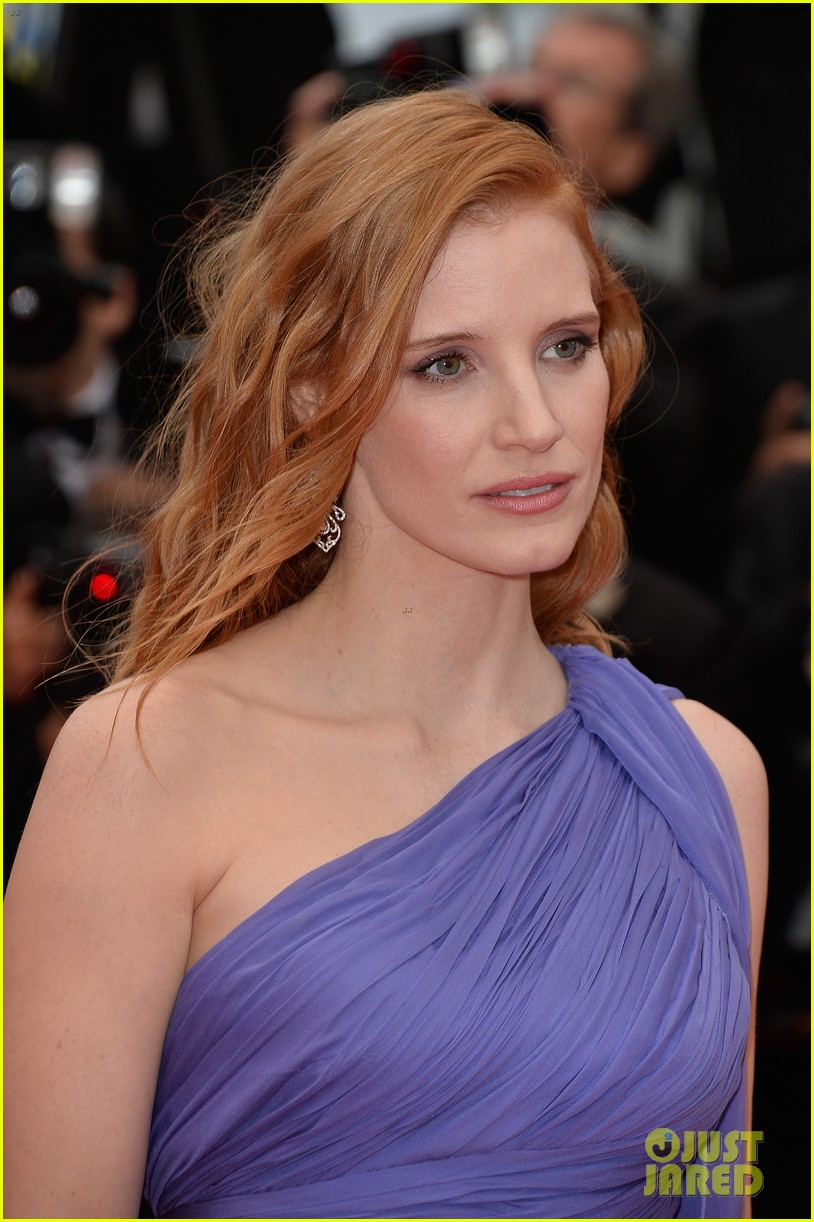 jessica chastain foxcatcher cannes premiere 19