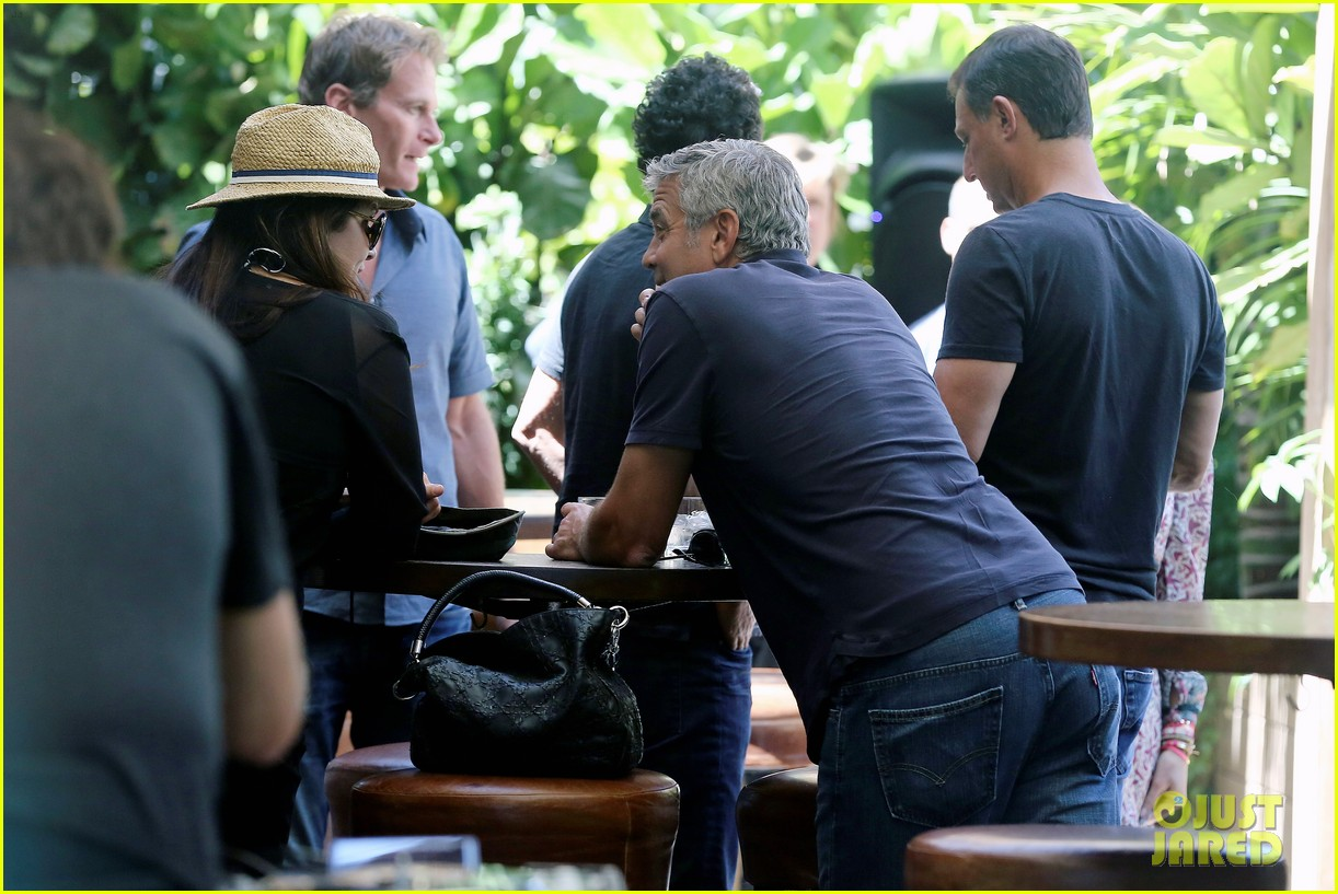 George Clooney & Amal Alamuddin Celebrate Their Engagement Surrounded By Celebrity Friends! George-clooney-celebrates-engagement-to-amal-alamuddin-surrounded-by-celebrity-pals-05