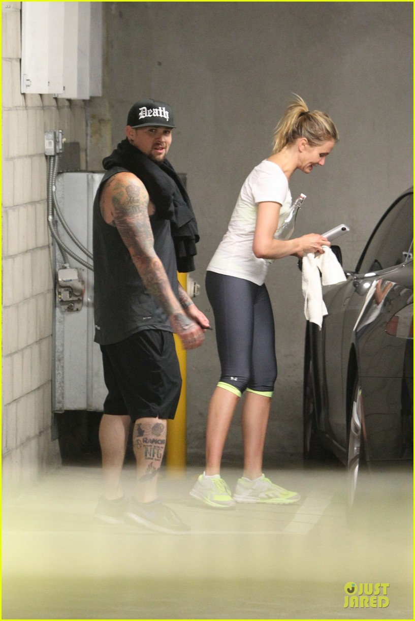 cameron diaz benji madden new couple alert 083115829