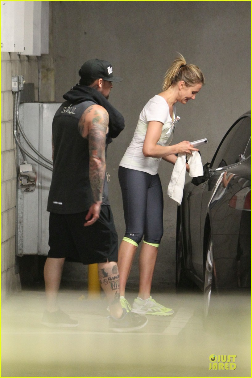 cameron diaz benji madden new couple alert 103115831