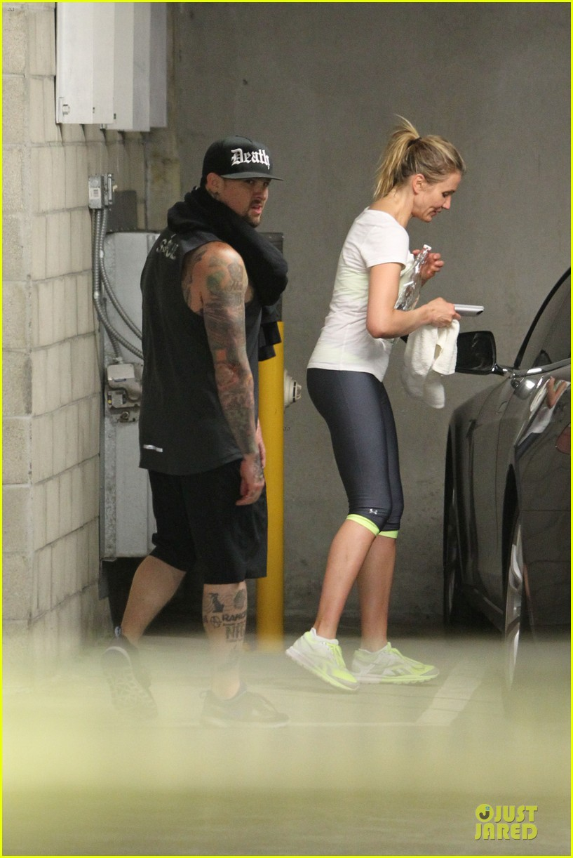 cameron diaz benji madden new couple alert 143115835