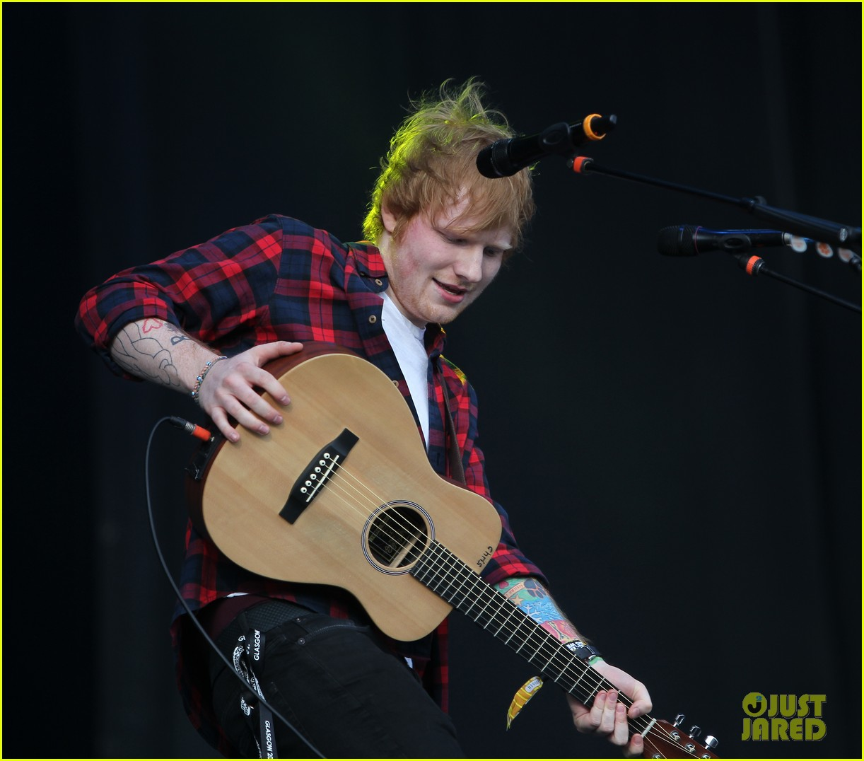 ed sheeran big weekend glasgow 01