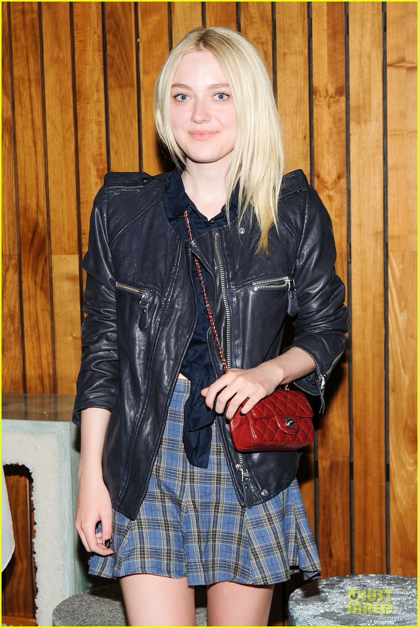 dakota fanning jamie strachan amma studio launch 02.