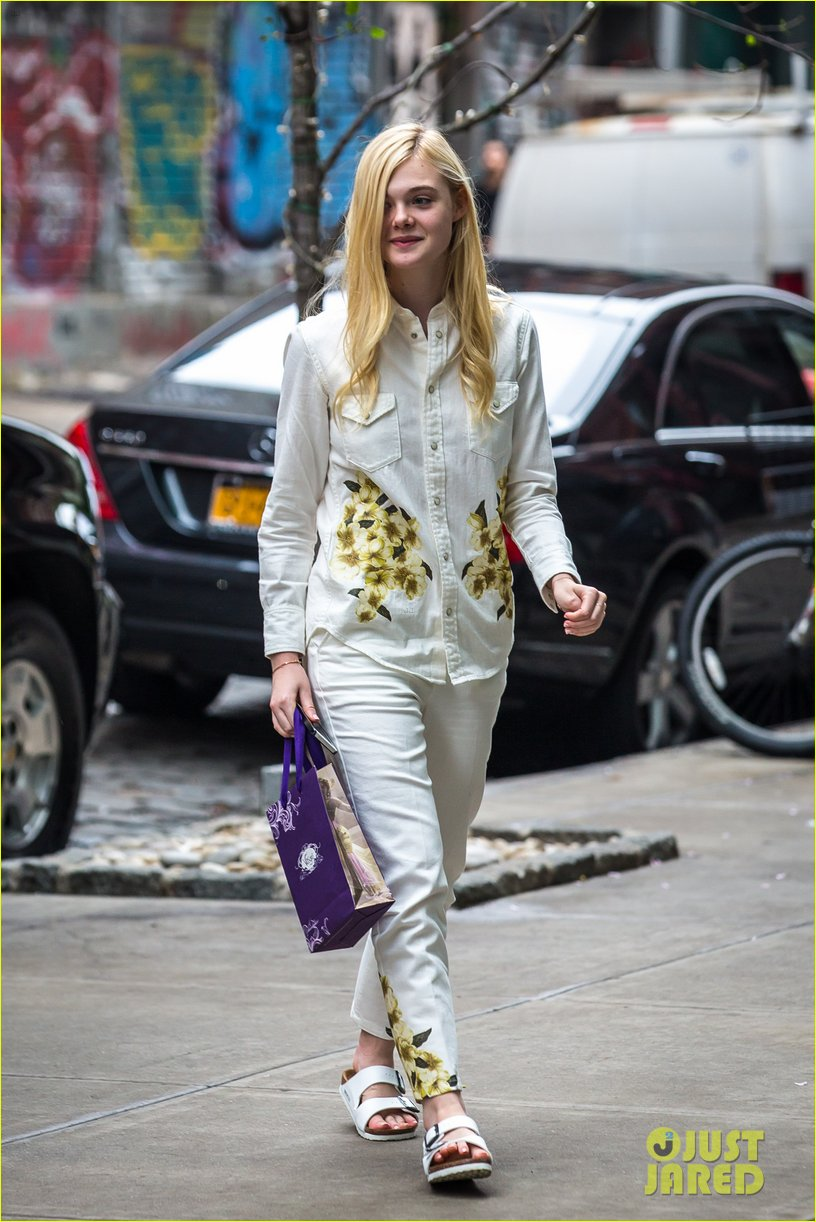 elle fanning soho eat 100 years 10