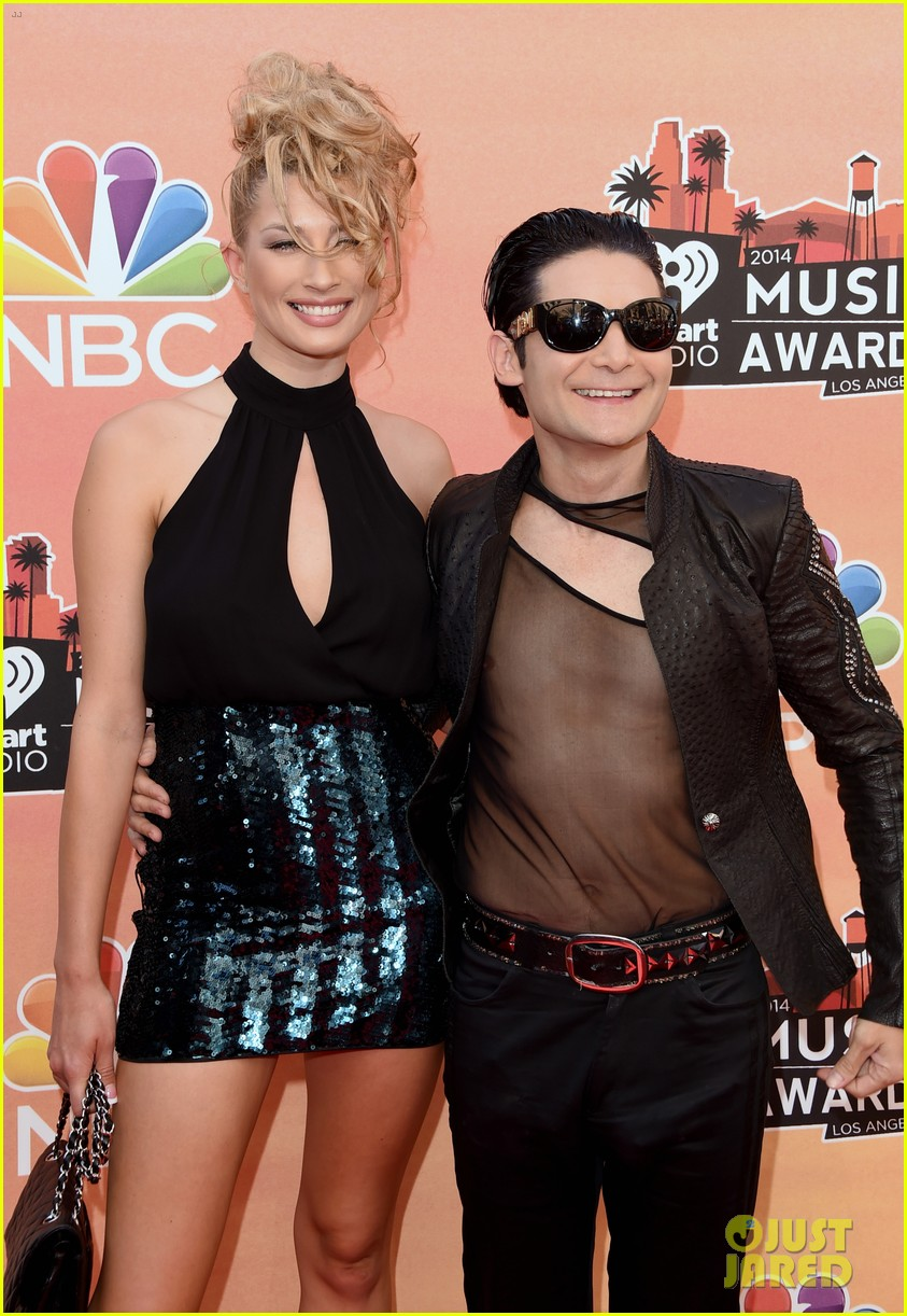 corey feldman iheartradio music awards 2014 033103340