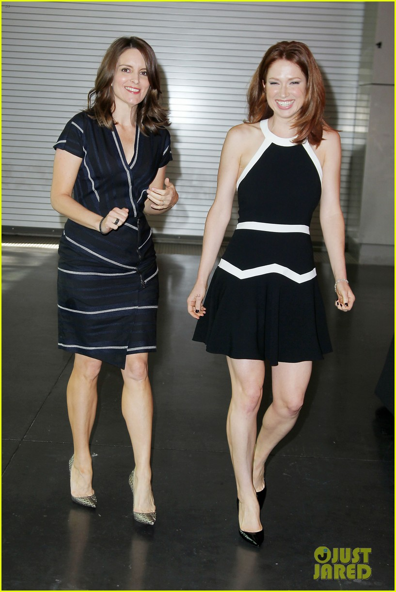 tina fey ellie kemper team up at nbc upfronts 2014 163111642