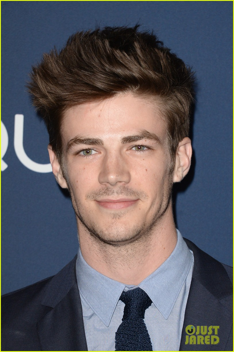 grant gustin danielle panabaker the flash upfronts 06