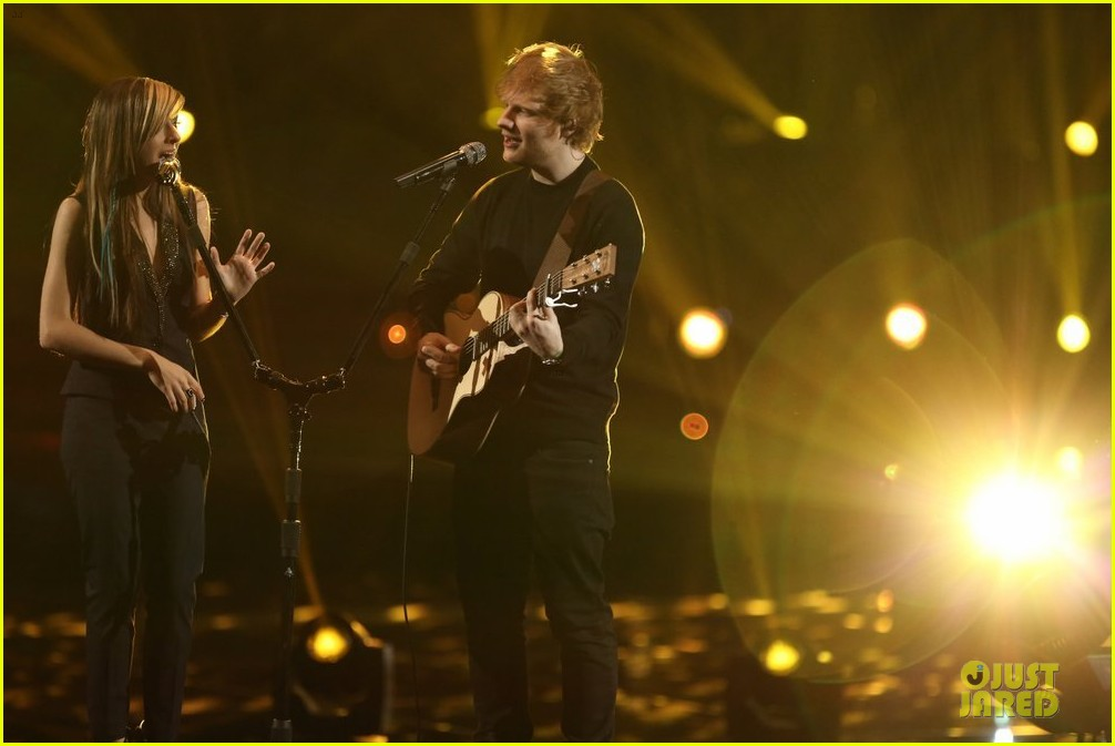 christina grimmie ed sheeran perform all of the stars voice 09