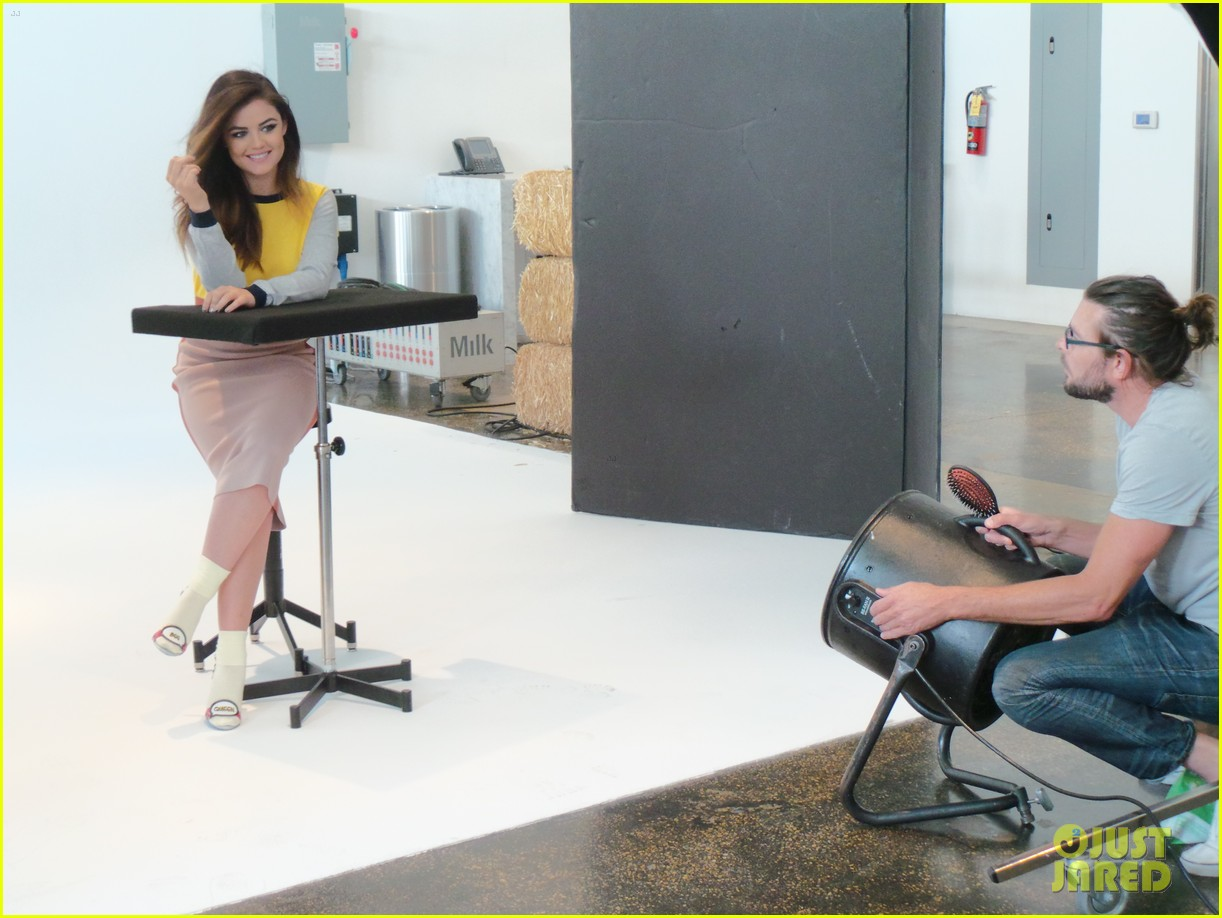 lucy hale jj spotlight behind the scenes 083122725