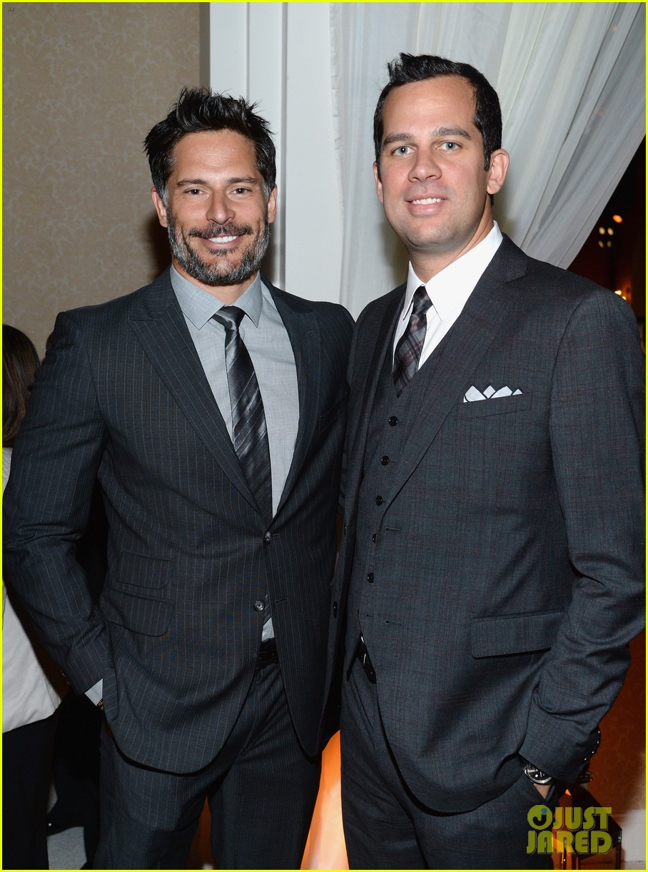 armie hammer joe manganiello suit up for whcd weekend 07