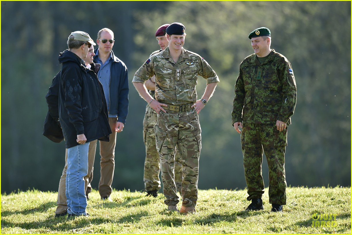 prince harry charm us on two day estonia visit 033115710