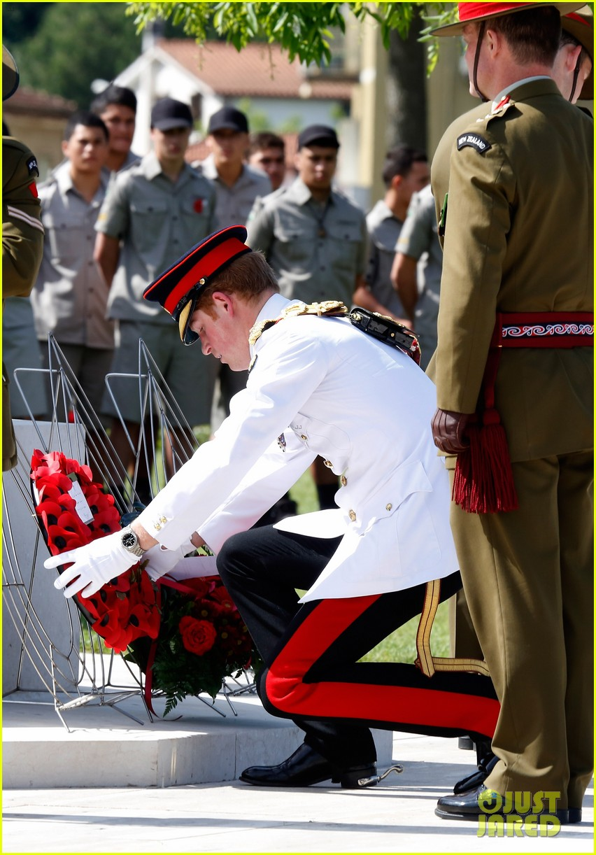 prince harry commemorative event italy 053116580
