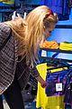 erin heatherton tries on some sleek shades oakley store opening 07