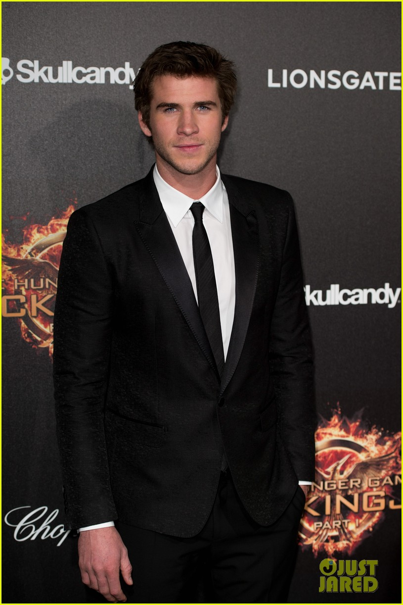 liam hemsworth josh hutcherson hunger games cannes party 253115909