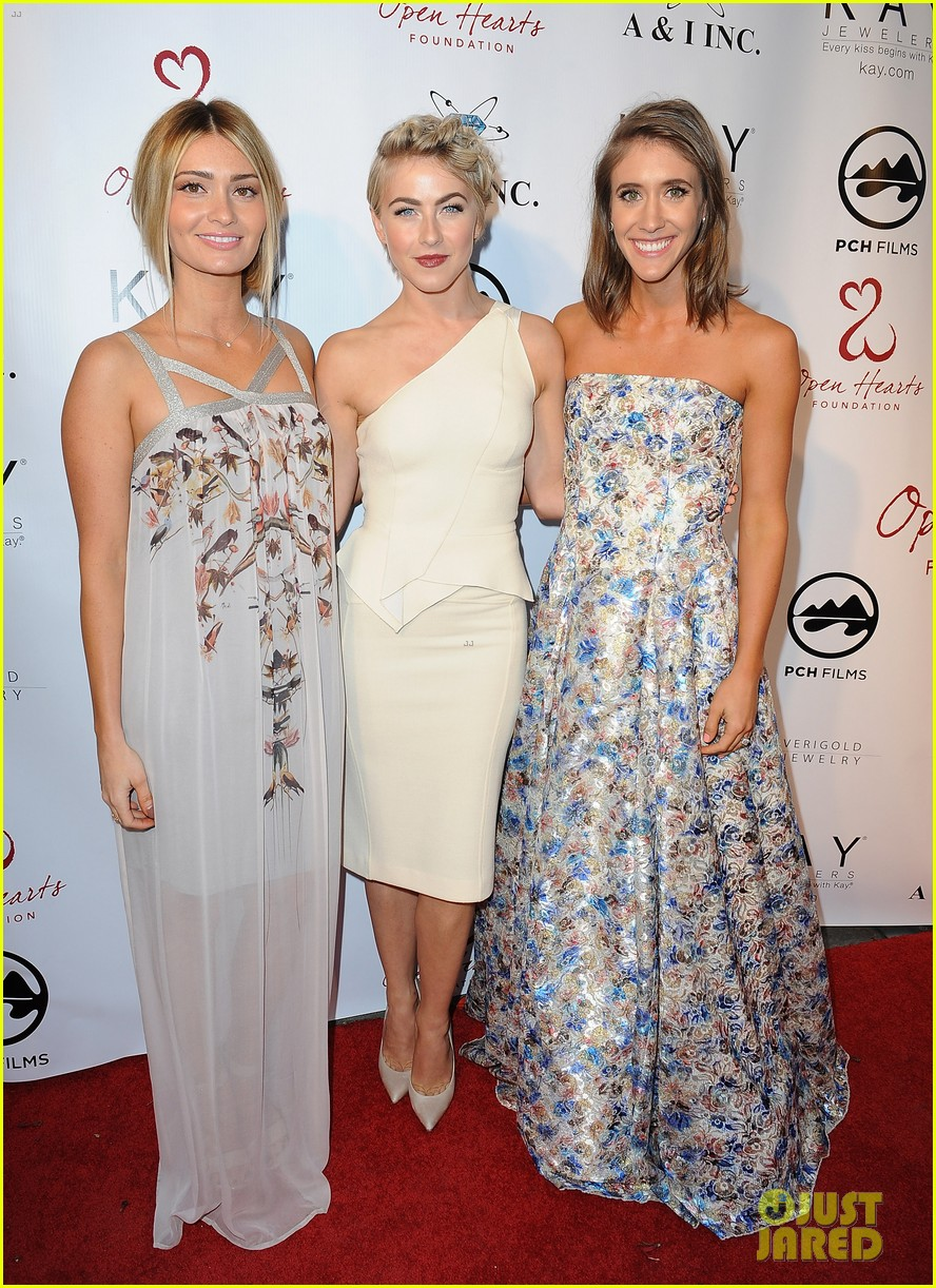 julianne hough brooks laich open hearts gala 10