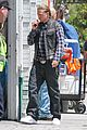 charlie hunnam gets all made up on sons of anarchy set 13
