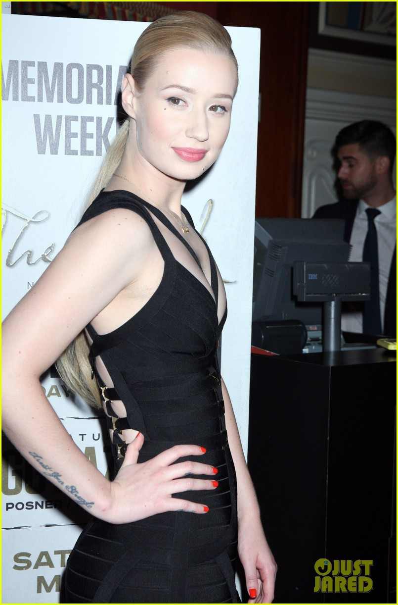iggy azalea pops neon las vegas birthday celebration 17