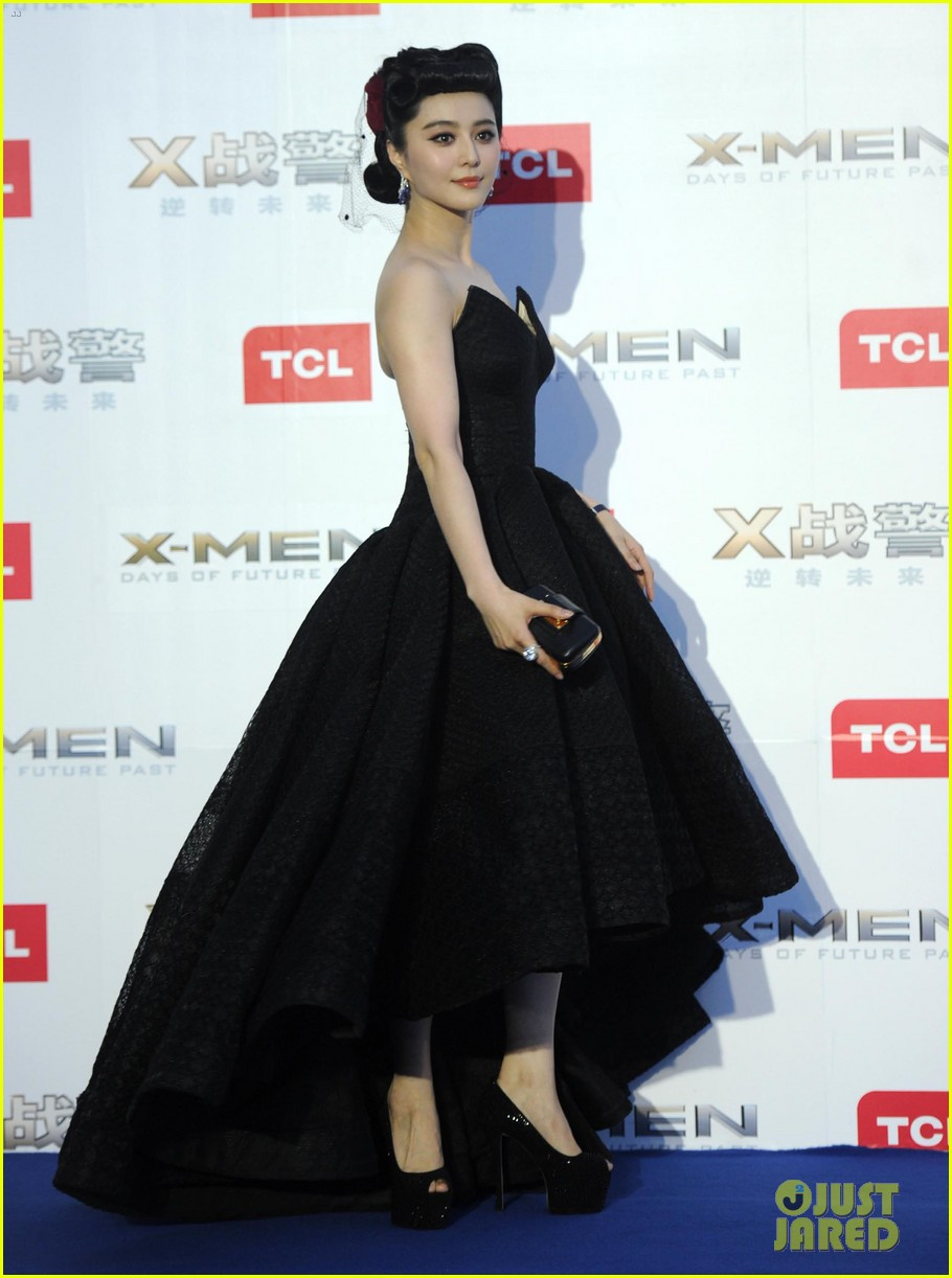 hugh jackman premieres x men with fan bingbing peter dinklage in beijing 083113088