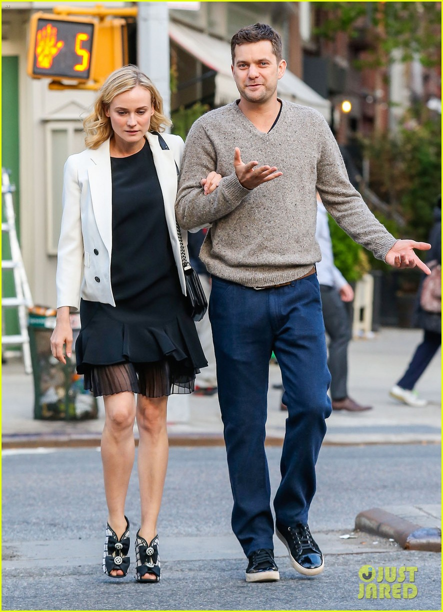joshua jackson diane kruger walk arm in arm in big apple 08