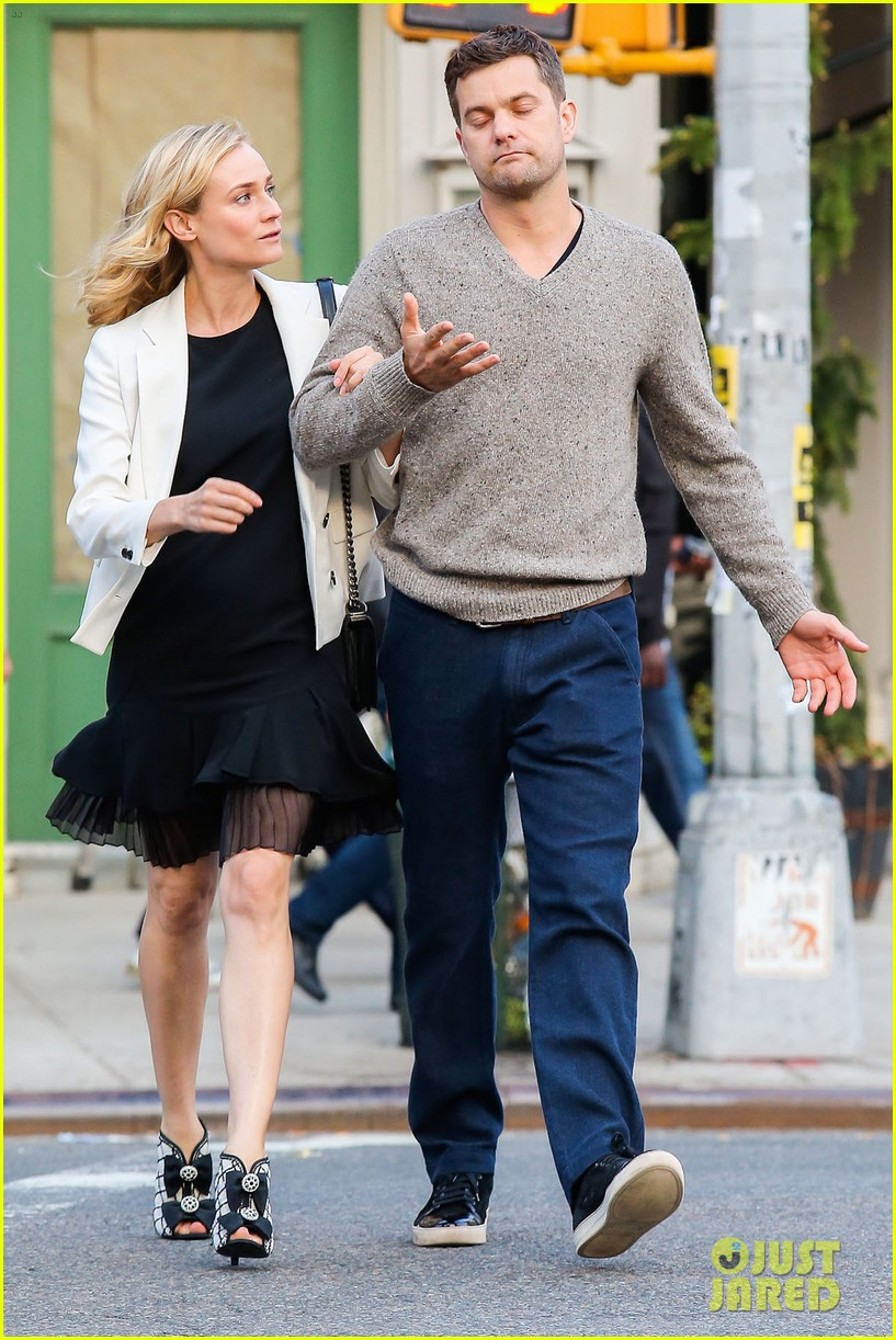 joshua jackson diane kruger walk arm in arm in big apple 113104799