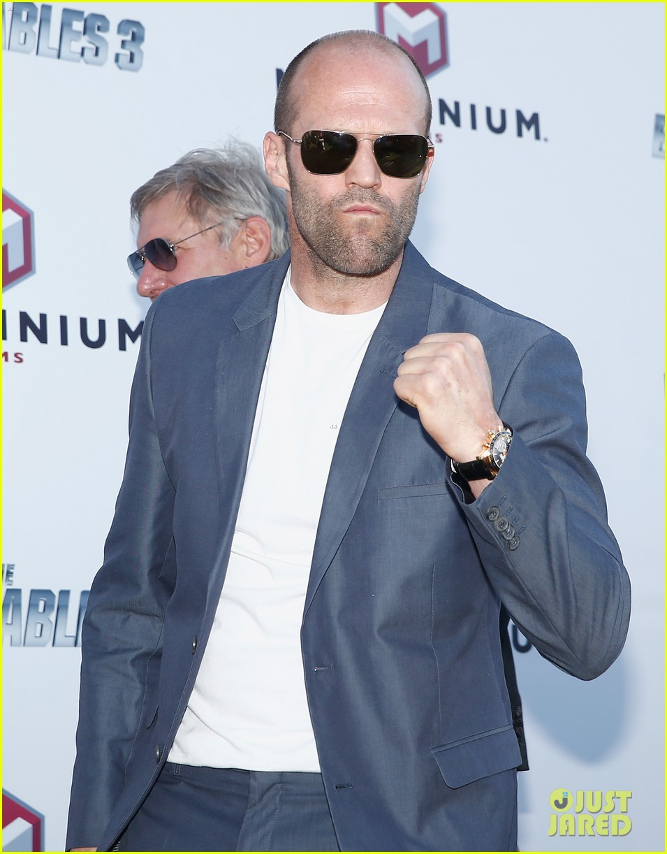 jason statham star studded expendables 3 photo call 18