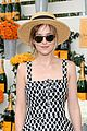 dakota johnson behati prinsloo check out a polo match 11