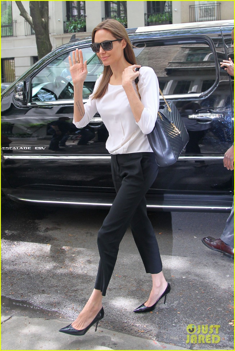 angelina jolie heads to meeting in new york city 05