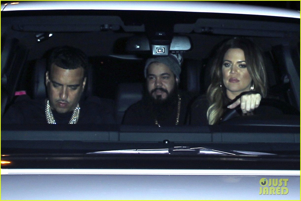 kim kardashian joins khloe to support french montana 14