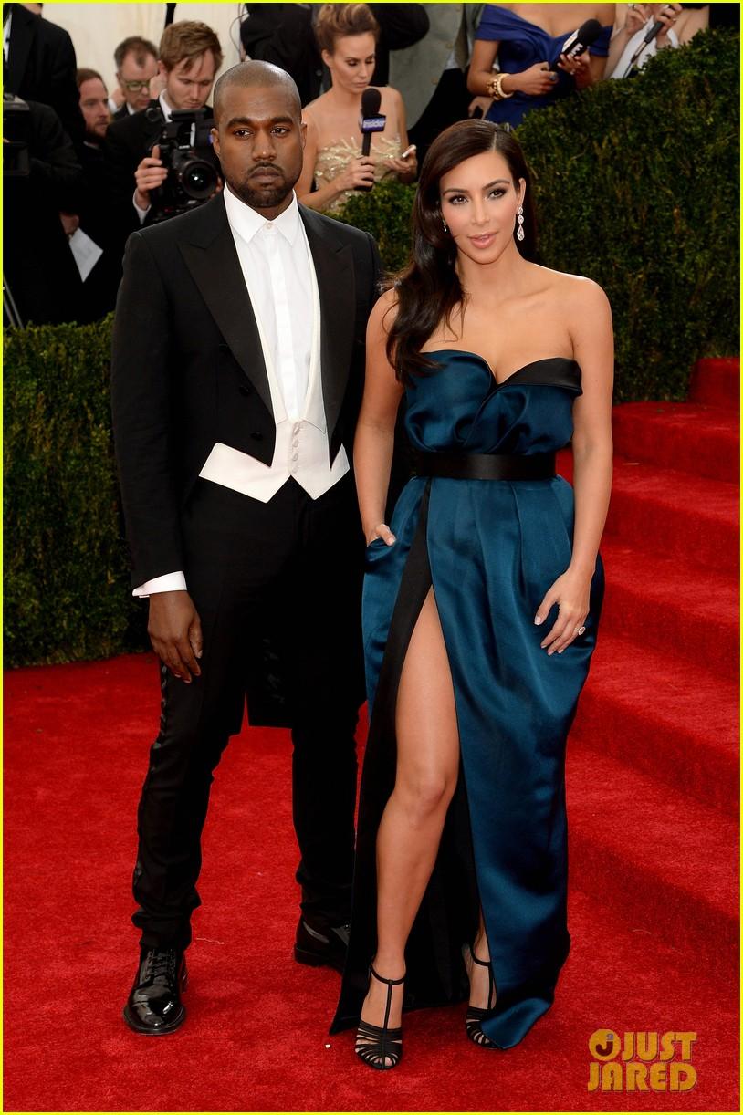kim kardashian kanye west met ball 2014 023106124