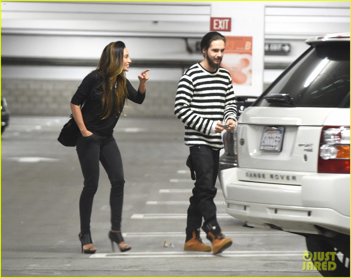 tom kaulitz movie date night with girlfriend ria sommerfeld 01