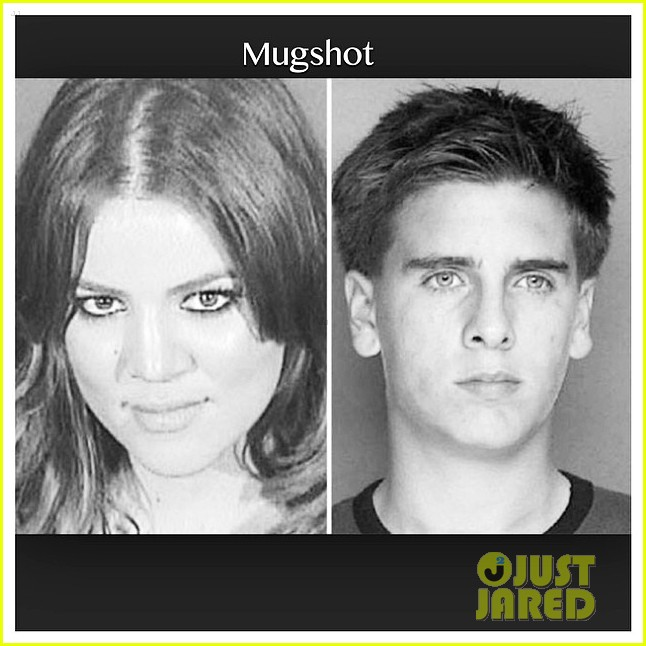 khloe kardashian wishes scott disick happy birthday mugshot 023122625