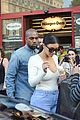 kim kardashian kanye west ice cream cones paris 01