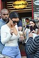 kim kardashian kanye west ice cream cones paris 09