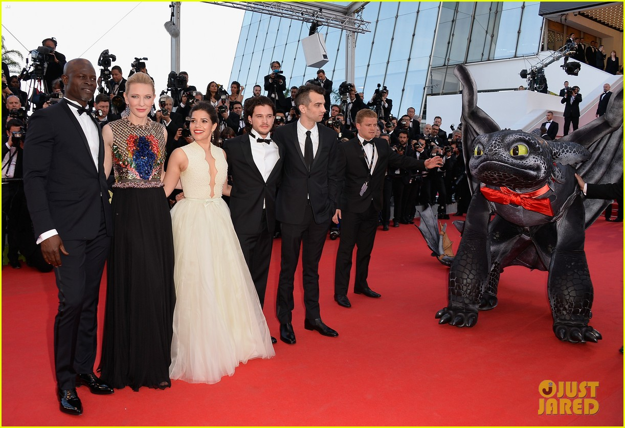 cate blanchett kit harington how to train your dragon 2 cannes premiere 093115105