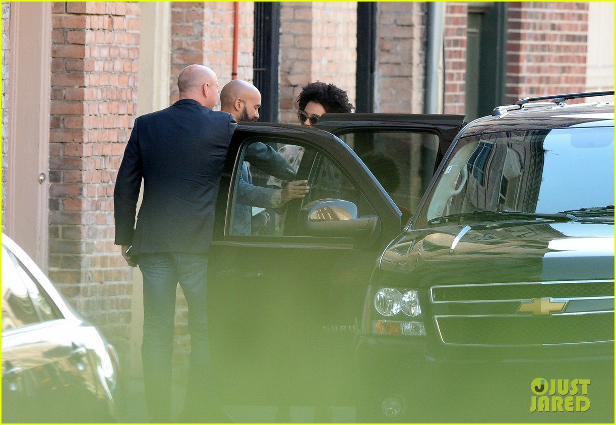 solange knowles emerges for first time since elevator fight video leaks 07