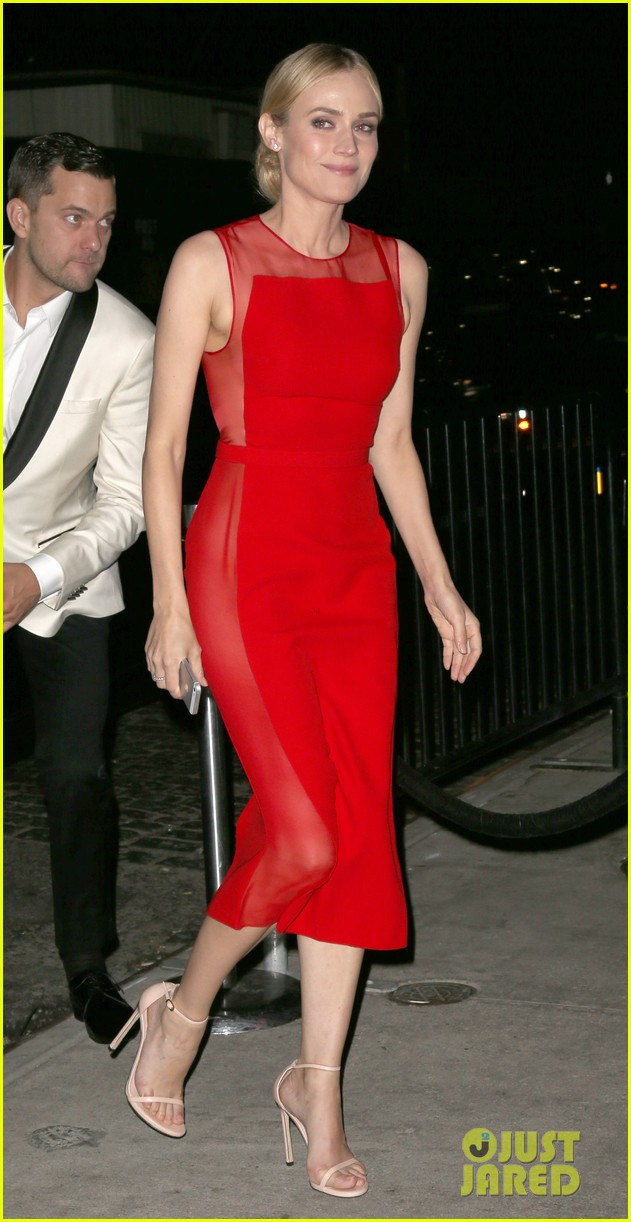 diane kruger goes red hot at met ball 2014 after party with joshua jcakson 04