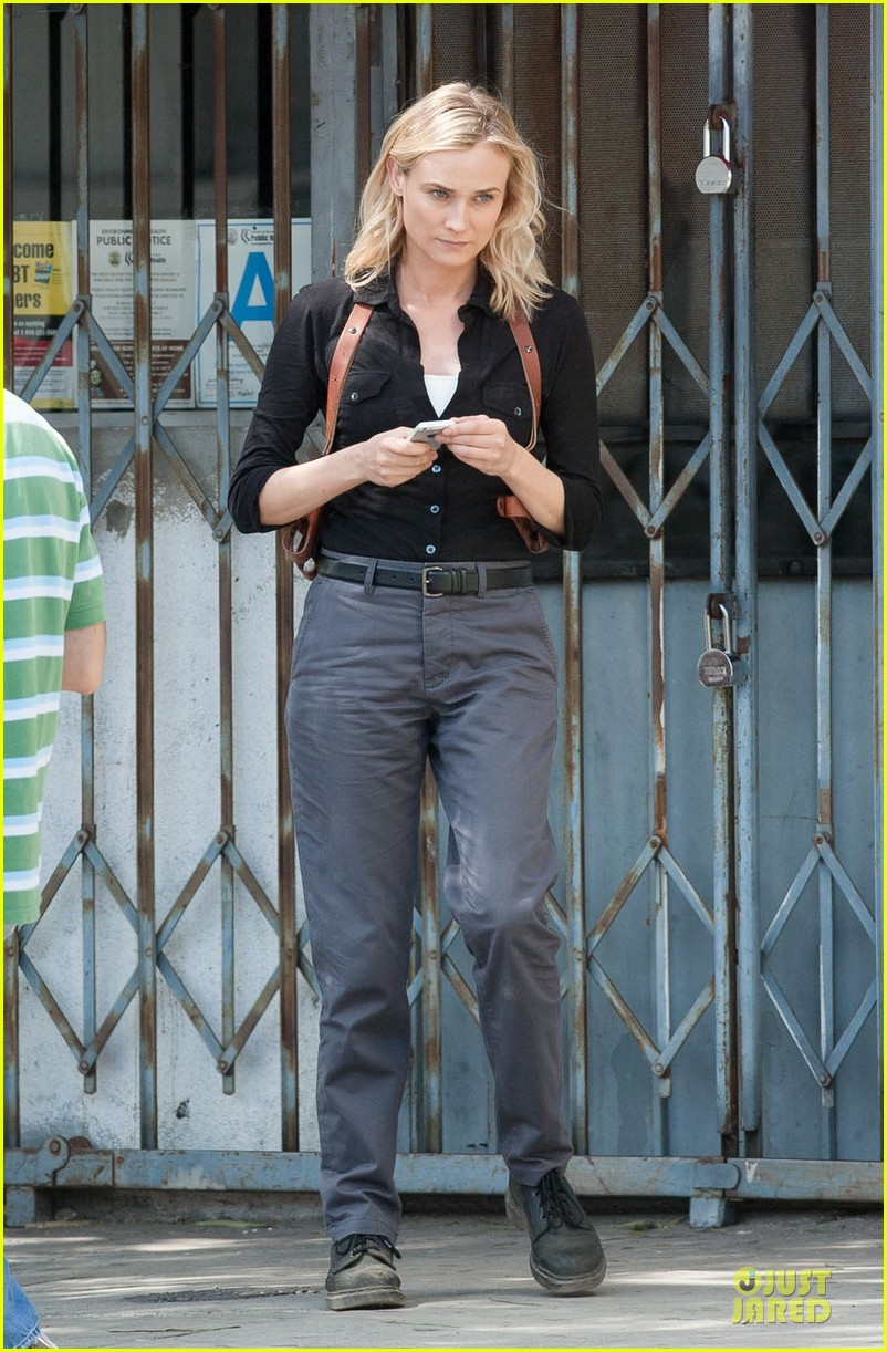 diane kruger shooting bridge second season 01