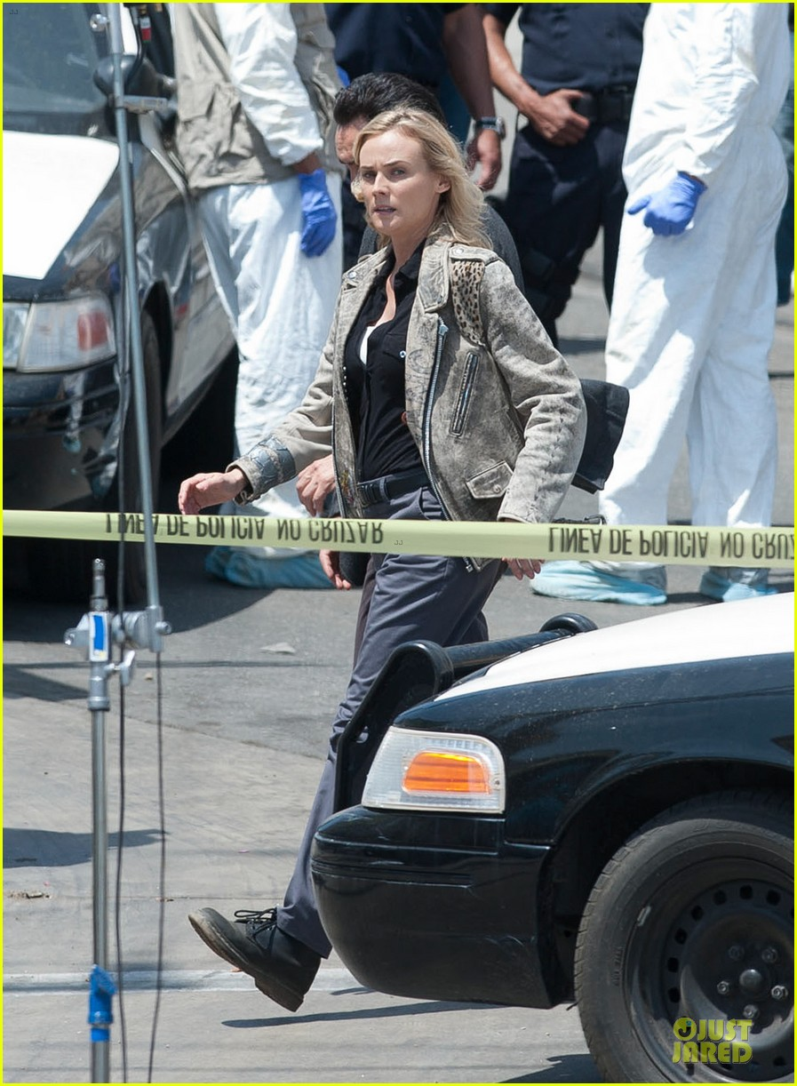 diane kruger shooting bridge second season 073109628