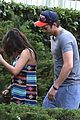 mila kunis hides her baby bump in loose fitting dress 01