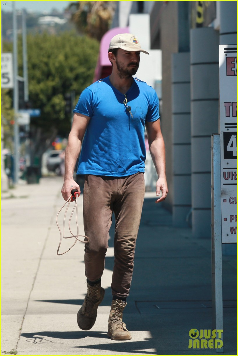 shia labeouf sure is dedicated to the gym these days 01