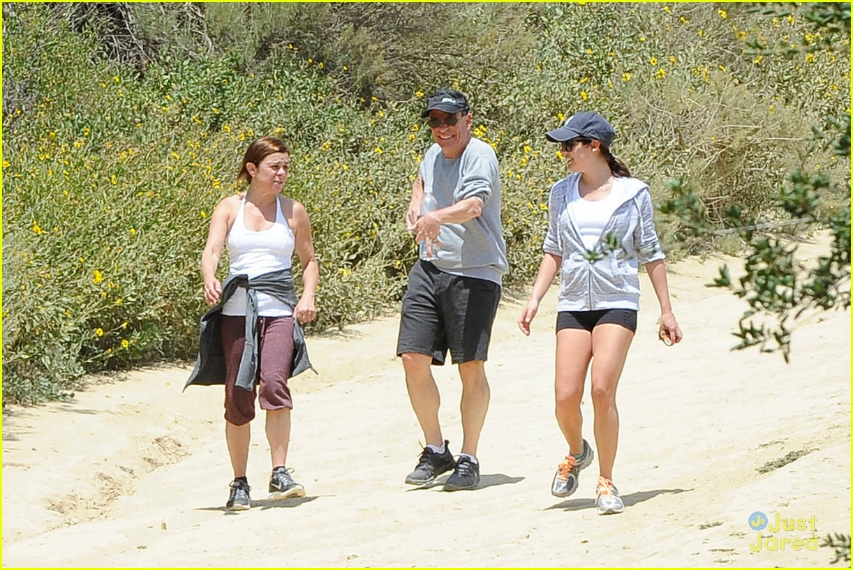 lea michele hike parents funny girl 13