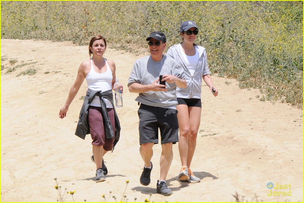 lea michele hike parents funny girl 16