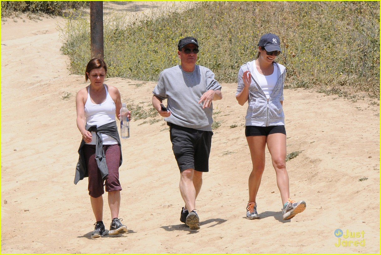 lea michele hike parents funny girl 20